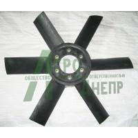 Д65-1308050П Крильчатка вентилятора (пластм.)