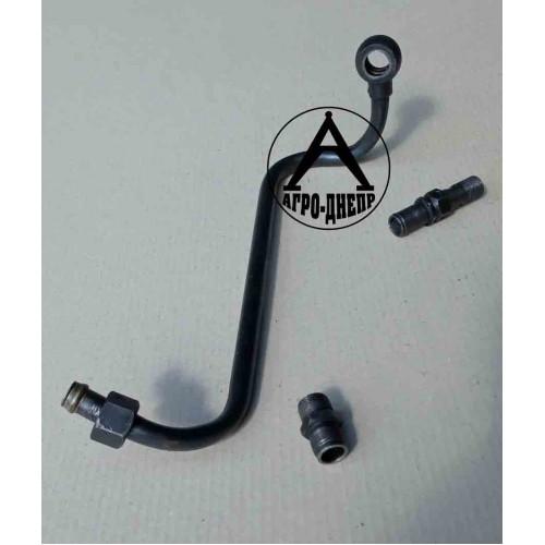 15-09с11 Трубка до масляного фільтру (під стартер)