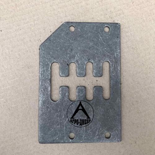 45Т-1702200 Кулиса КПП ЮМЗ (пластина с желобками)