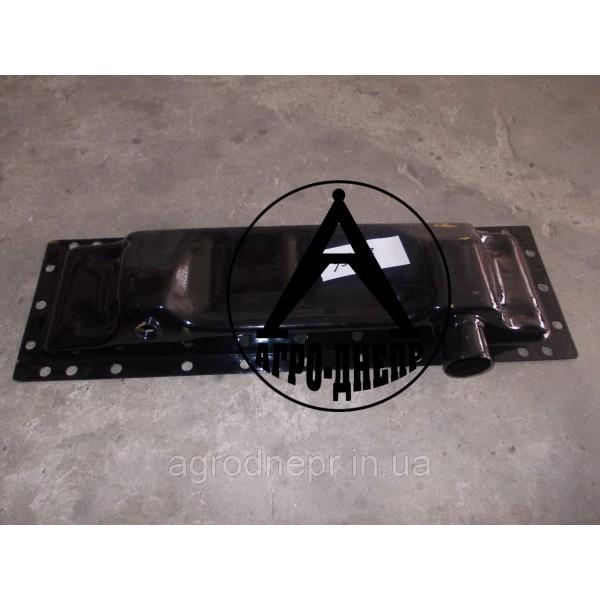 70У-1301075 Бак радіатора нижній (метал)